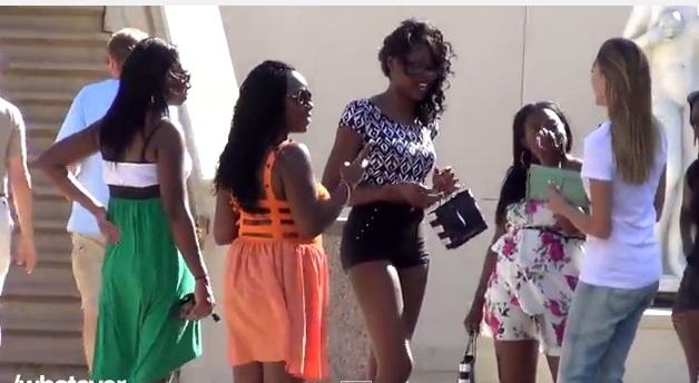 Lool - Girl Picking Up Girls Las Vegas - Trys to Get girl