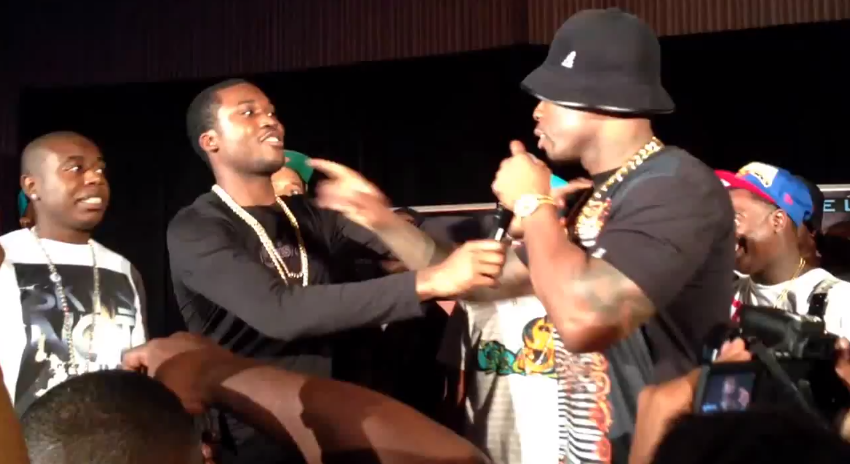 50 Cent Disses Meek Mill He Thought He Was Gon Pick On Drake Got The Slapped Out Of Him Total Views 25721